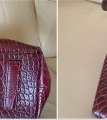 Armani kožna torba, original