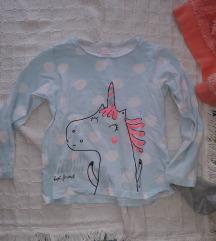 Bluzice, pantalonice za devojcice 86-92-98