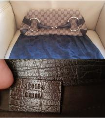 Gucci Monogram Horsebit Clutch, original