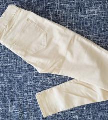 Svetložute uske pantalone, 34