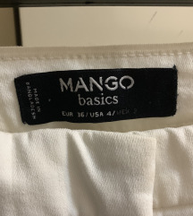 MANGO krem pantalone