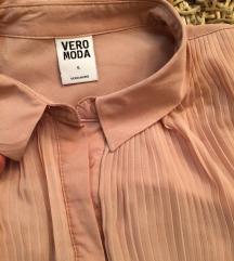 Vero moda original nova nude plisirana kosulja