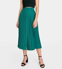 Zelena stradivarius suknja