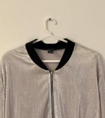 Atmosphere bomber srebrna  jakna ✨