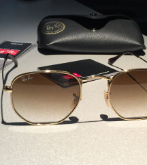 Ray Ban Hexagonal  Original Nove