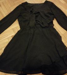 Crna svecana haljina kao nova Snizenje