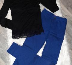 Duboke  plave pantalone