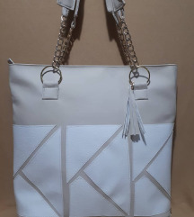 Velika krem torba