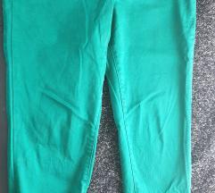 Zelene pantalone 7/8