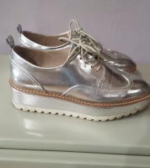 Zara srebrne cipele 37 AKCIJA 2+1