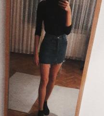Bershka teksas suknja