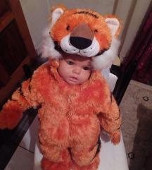 Prelepi tigar kostim ili kao skafander