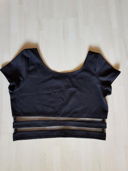 Ženska majica crop-top NOVO