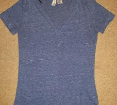 H&M Basic plava majica, samo 300 din