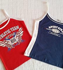 2 majice, sportske, nove, vel.S