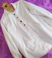 Bela košulja sa vezom