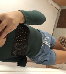 •Zelena G Star majica•
