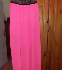 Neon roze suknja