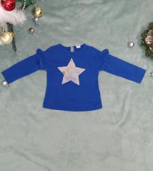 plava majica sa zvezdom za devojcice
