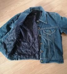 Postavljena teksas jakna
