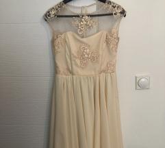 Sivena po meri haljina