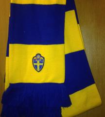Nov zvanični šal Fudbalske asocijacije Švedske