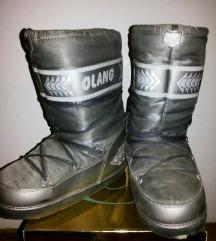 Cizme za sneg ( Srebrne )