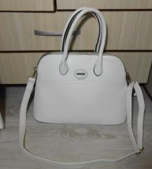 Predivna velika bela ALDO torba REZZ