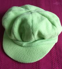 Zimska kapa / kačket zelena