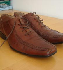 Muške italijanske cipele- boks koža