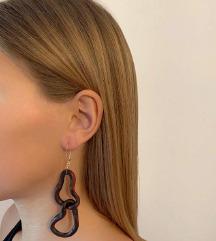 Red/Black Snake Earrings