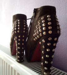 Braon Cipele sa nitnama