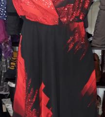 Haljinica crno crvena