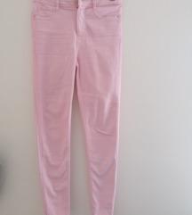 Zara skinny roze farmerke