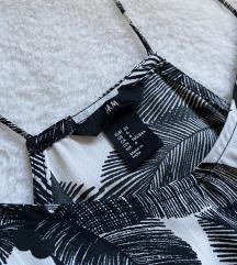 H&M midi letnja print haljina