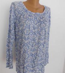 svetlo plava bluza XL