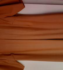Haljina od eko kože, nova