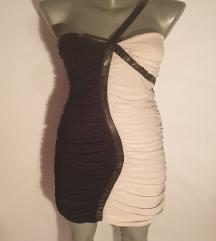 Crno bela haljinica ⚫⚪