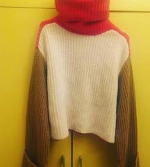 TOTALNI HIT Ženski džemperi sa neobičnim rukavima