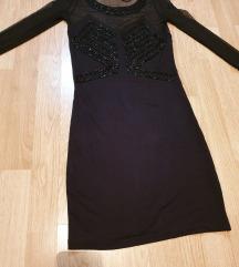Bershka mala crna haljina