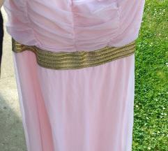Letnja haljina roze top