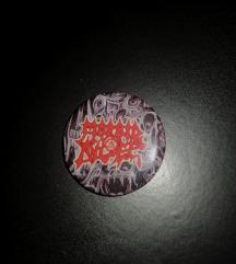NOVO Morbid Angel bedž