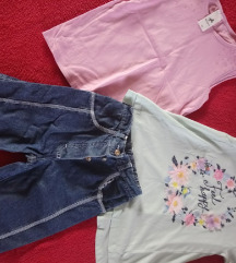pantalone 3/4 + 2 majice palomino