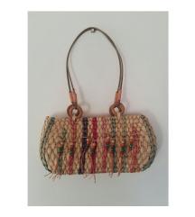 Vintage pletena torba