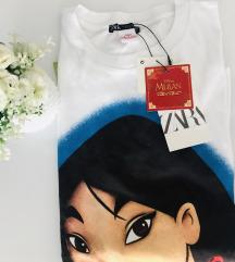 Zara Disney Mulan majica✨NOVO