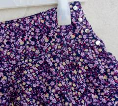 NOVO! Sa etiketom floral suknja S