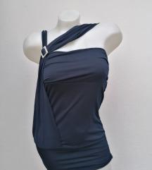 Elegantna teget bluza