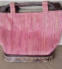 Bali Cafe handmade torba, prirodni materijal