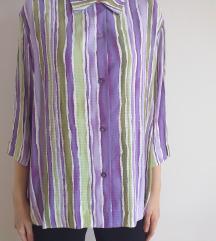 Oversize retro košulja
