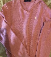 Bebi roze džemper Ralf Loren